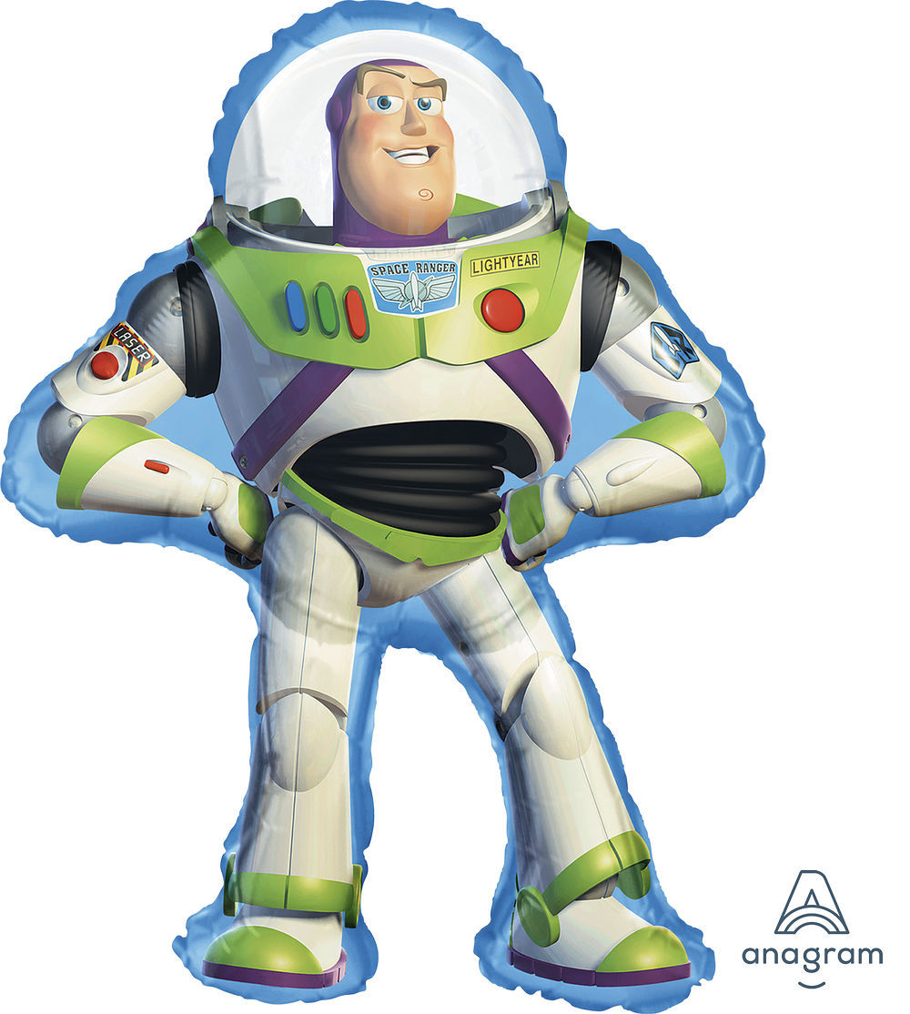"""Picture of 35""""Buzz Lightyear - Toy Story Foil Balloon  (helium-filled)"""