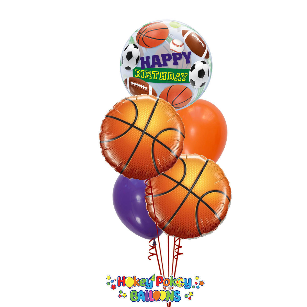 Picture of Sport Birthday - Balloon Bouquet (5 pc)