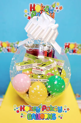 Picture of Deluxe Craft - Stuffed Balloon Gift with a Bow