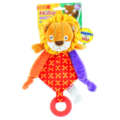 Picture of Nuby Play n' Comfort Teether - Lion