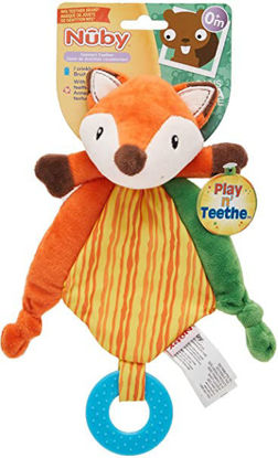 Picture of Nuby Play n' Comfort Teether - Fox
