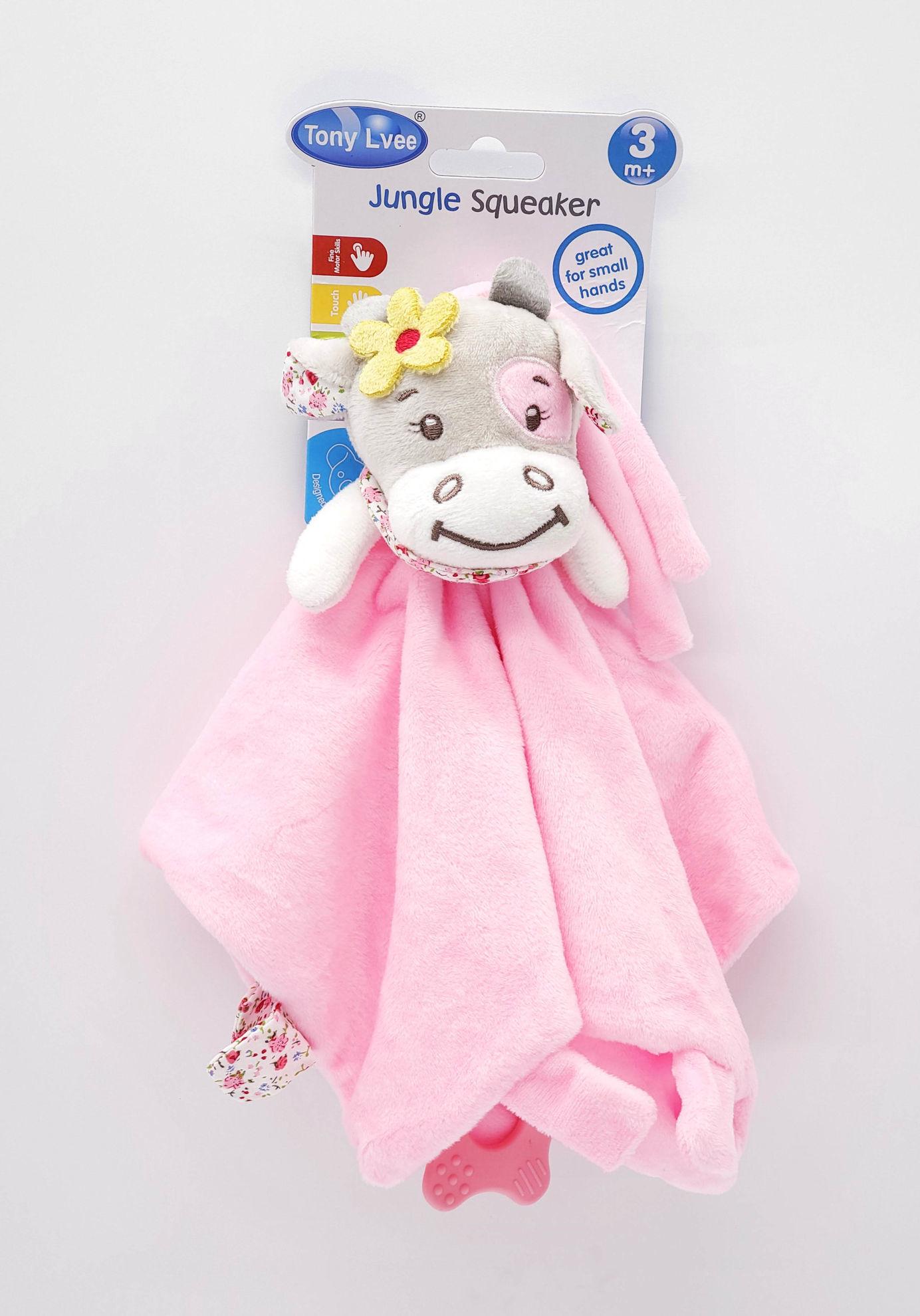Picture of Tony Lvee Baby Comfort Towel - Hippo
