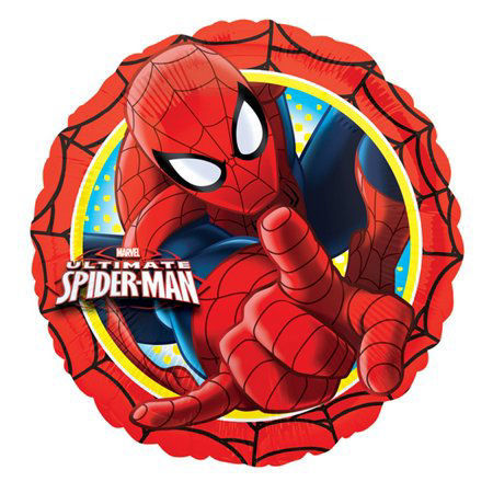 """Picture of 18"""" Spider Man Foil Balloon (helium-filled)"""
