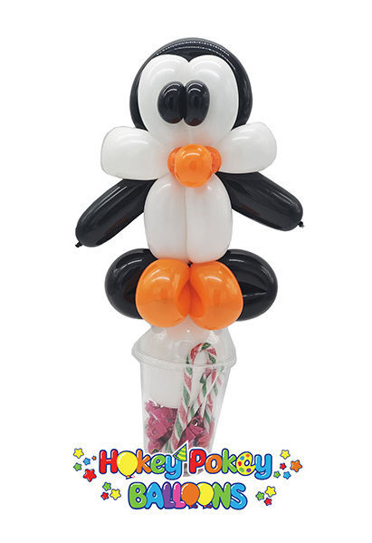 Picture of Penguin Balloon Candy Cup