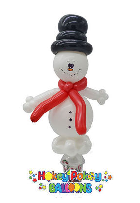Picture of Snowman - Balloon Candy Cup