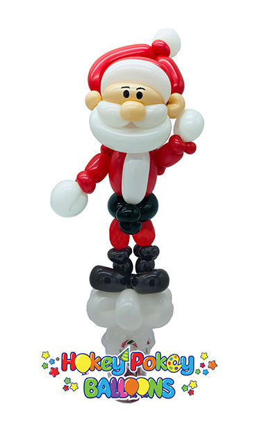Picture of Santa - Balloon Candy Cup